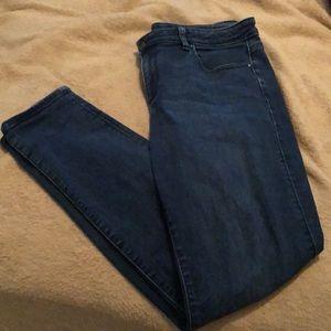 Ann Taylor factory Curvy skinny jeans